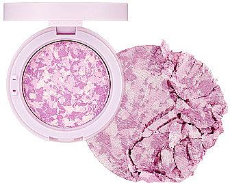 Румяна-хайлайтер - The Face Shop Marble Beam Blush & Highlighter