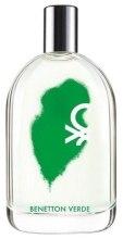Духи, Парфюмерия, косметика Benetton Verde Man - Туалетная вода (тестер с крышечкой)