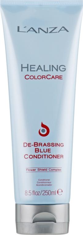 Кондиционер для устранения рыжины - L'anza Healing ColorCare De-Brassing Blue Conditioner