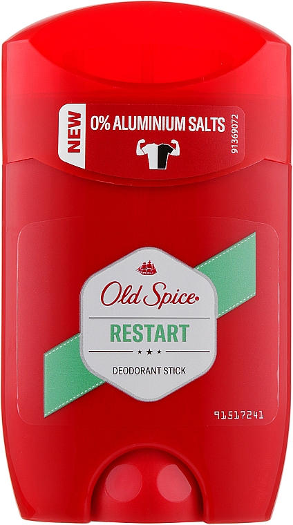 Твердый дезодорант - Old Spice Restart Deodorant Stick