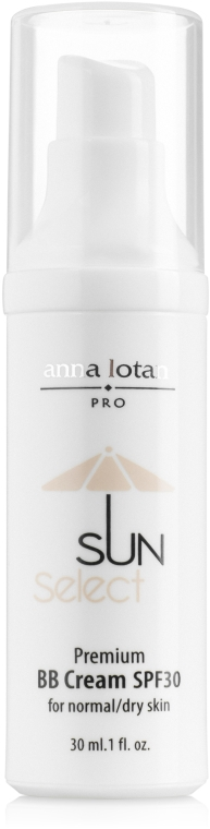 Премиум ВВ-крем - Anna Lotan Sun Select Premium BB Cream SPF 30
