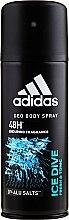 Духи, Парфюмерия, косметика Adidas Ice Dive - Дезодорант
