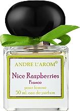 Духи, Парфюмерия, косметика Andre L'arom Lovely Flauers Nice Raspberries - Парфюмированная вода (тестер с крышечкой)
