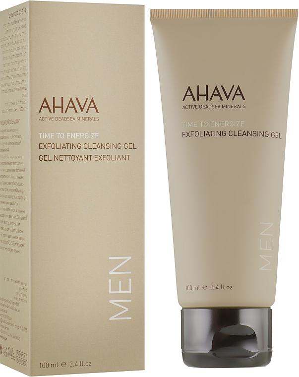 Отшелушивающий очищающий гель для лица - Ahava Men Exfoliating Cleansing Gel
