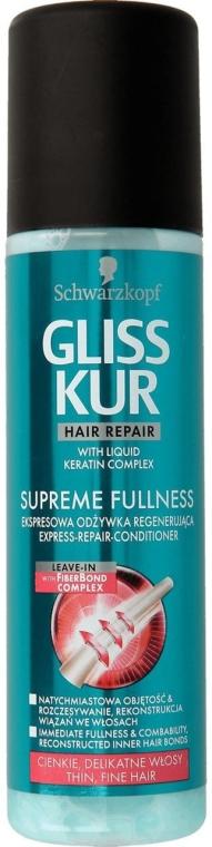 Спрей-кондиционер для волос - Gliss Kur Supreme Fullness