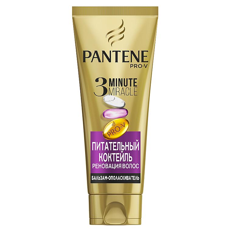 "Бальзам-ополаскиватель ""Питательный коктейль"" - Pantene Pro-V 3 Minute Miracle Conditioner"