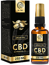 Духи, Парфюмерия, косметика Натуральное аргановое масло CBD 250mg - Dr. T&J Bio Oil