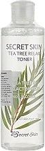 Духи, Парфюмерия, косметика Тонер для лица Secret Skin - Tea Tree Relax Toner