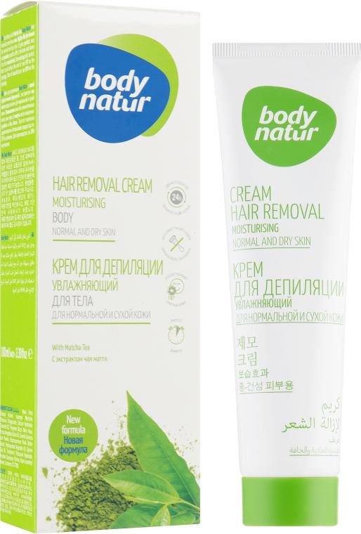 Крем для депиляции, увлажняющий, для тела для нормальной и сухой кожи - Body Natur Hair Removal Cream Normal-Dry Skin