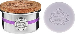 "Духи, Парфюмерия, косметика Натуральное мыло ""Лаванда"" - Essencias De Portugal Tradition Aluminum Jewel-Keeper Lavender"
