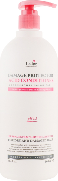 Кондиционер для сухих волос - La'dor Damaged Protector Acid Conditioner