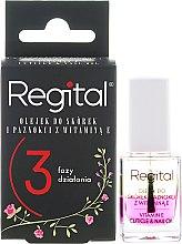 Духи, Парфюмерия, косметика Трехфазное масло для ногтей и кутикулы - Regital Three-phase Cuticle And Nail Oil