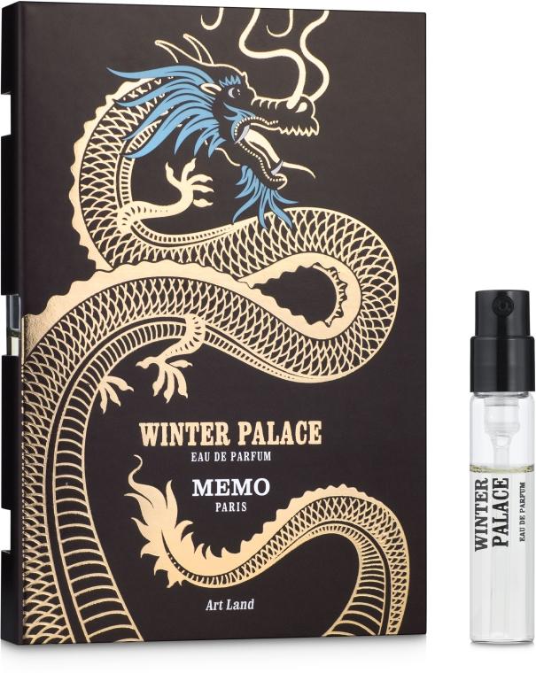 Memo Winter Palace - Парфюмированная вода (пробник)