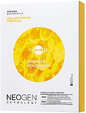 Тканевая маска для лица с коллагеном - Neogen Collagen Firming Fiber Mask — фото N1