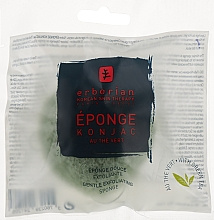Духи, Парфюмерия, косметика Спонж конняку с зеленым чаем - Erborian Green Tea Konjac Sponge
