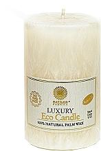 Духи, Парфюмерия, косметика Свеча из пальмового воска, 12.5 см, белая - Saules Fabrika Luxury Eco Candle