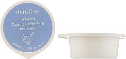 Духи, Парфюмерия, косметика Капсульная ночная маска для лица с экстрактом ламинарии - Innisfree Capsule Recipe Pack Seaweed