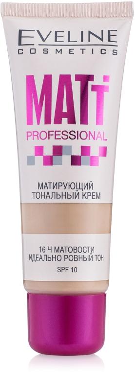 Матирующий тональный крем - Eveline Cosmetics Matt Professional