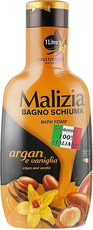 "Пена для ванны ""Аргана и ваниль"" - Malizia Bath Foam Argan & Vanilla — фото N1"