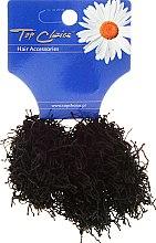 "Духи, Парфюмерия, косметика Резинки для волос ""Spaghetti"" 3 шт, черные - Top Choice"