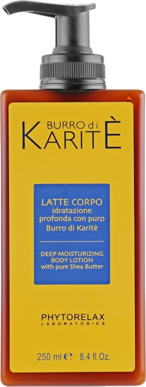 Молочко для тела - Phytorelax Laboratories Burro Di Karite Shea Butter