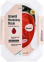 "Духи, Парфюмерия, косметика Набор ""Scarlet Ruby"" - Konad Iloje Jewel Modeling Mask (mask/55g + bowl + spatula)"