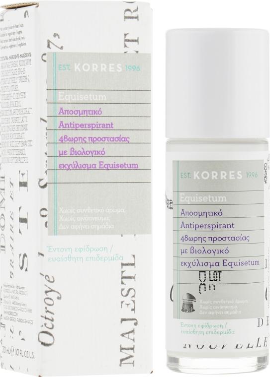 """Антиперспирант """"48 ч"""" против интенсивного потоотделения для чувствительной кожи без аромата - Korres 48h Deodorant"""