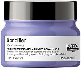 Духи, Парфюмерия, косметика Маска-сияние для волос, восстанавливающая - L'Oreal Professionnel Serie Expert Blondifier Masque