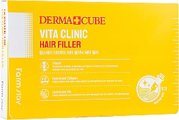 Духи, Парфюмерия, косметика Витаминный филлер для волос - FarmStay Derma Cubed Vita Clinic Hair Filler