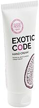 Духи, Парфюмерия, косметика Увлажняющий крем для рук для сухой и нормальной кожи - Good Mood Exotic Code Hand Cream