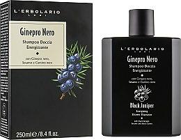 "Парфумерія, косметика Шампунь-гель для душу ""Чорний ялівець"" - L`Erbolario Black Juniper Perfumed Soap"