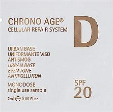 Духи, Парфюмерия, косметика Защитная крем-база антисмог - Dermophisiologique Chrono Age Urban Base Antismog SPF20 (пробник)