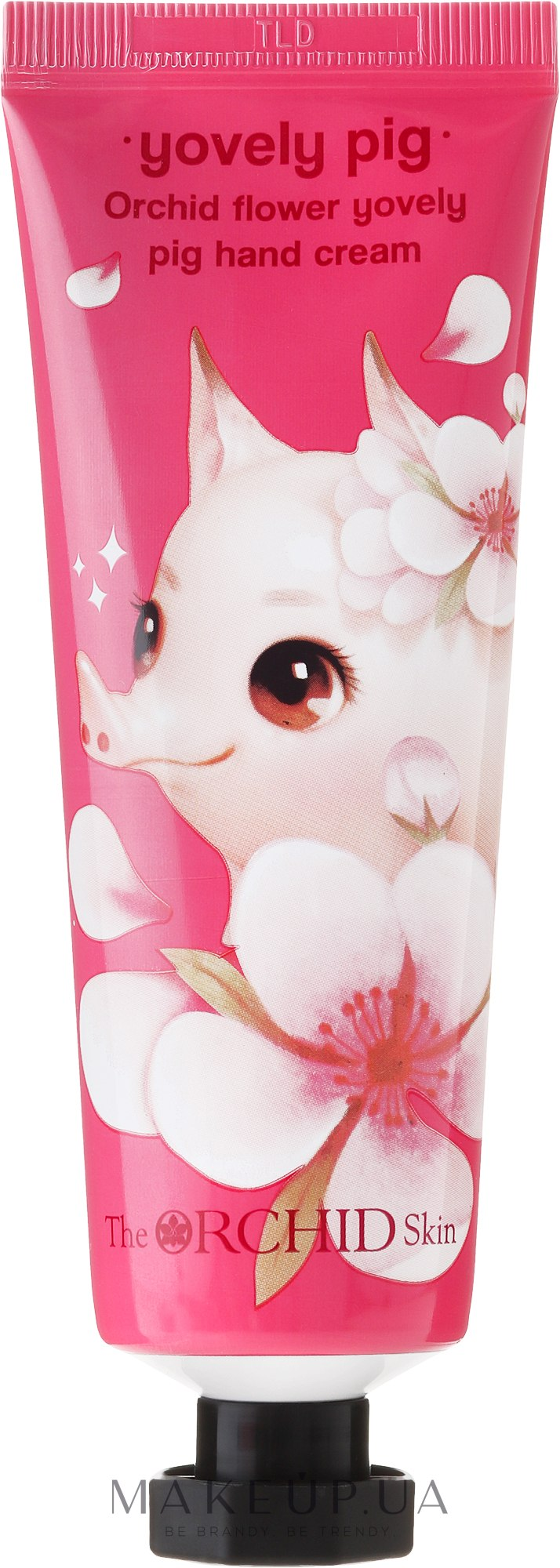 Крем для рук увлажняющий - The Orchid Skin Orchid Flower Yovely Pig Hand Cream — фото 60ml