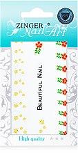 Духи, Парфюмерия, косметика Наклейки для дизайна ногтей, fda-15 - Zinger Nail Art Sticker 115