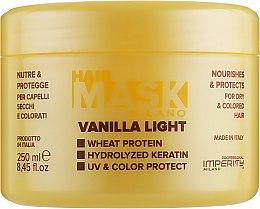 Духи, Парфюмерия, косметика Маска для сухих и окрашенных волос - Imperity Milano Vanilla Light Hair Mask