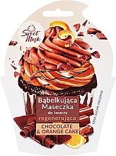 Духи, Парфюмерия, косметика Маска для лица восстанавливающая - Marion Sweet Mask Chocolate Orange Cake