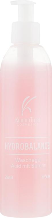 Гель для умывания с кислотами и сывороткой - KosmoTrust Cosmetics Hydrobalance Waschegel Acid mit Serum