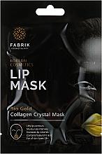 Духи, Парфюмерия, косметика Гидрогелевая маска-патч для губ и области вокруг губ с био-золотом - Fabrik Cosmetology Bio Gold Lip Mask