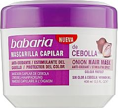 "Духи, Парфюмерия, косметика Маска ""Луковая"" для роста волос - Babaria Onion Hair Mask"