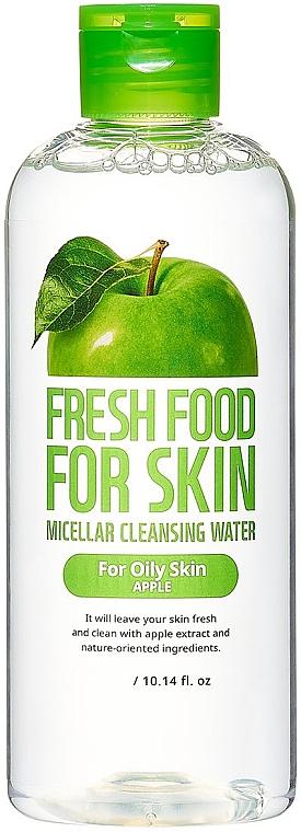 Мицеллярная вода для жирной кожи - Superfood For Skin Freshfood Apple Micellar Cleansing Water