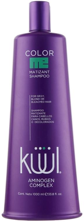 Тонирующий шампунь для осветленных волос - Kuul Color Me Shampoo Matizant