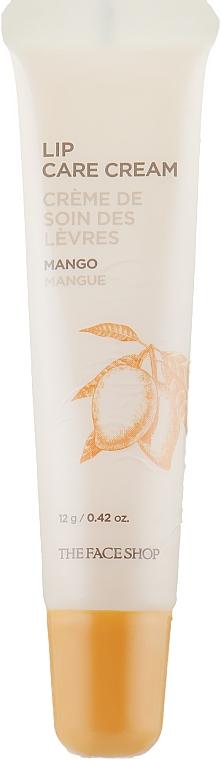 Крем для губ с ароматом манго - The Face Shop Lovely ME:EX Lip Care Cream I'm Mango Butter