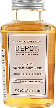 "Духи, Парфюмерия, косметика Гель для душа ""Свежий чёрный перец"" - Depot 601 Gentle Body Wash Fresh Black Pepper"