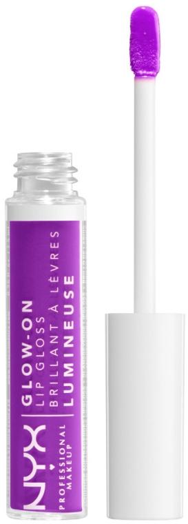 Блеск для губ фосфорный - Nyx Professional Makeup Glow-On Lip Gloss