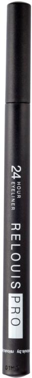 Подводка-фломастер для глаз - Relouis Pro 24 Hour Eyeliner