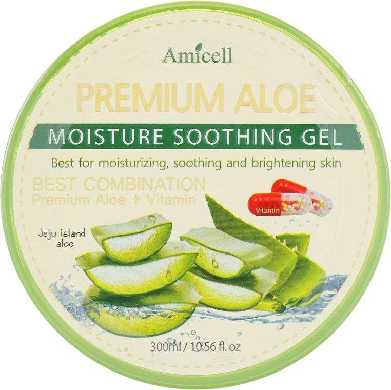 Увлажняющий гель для лица и тела - Amicell Aloe Vera Moisture Soothing Gel