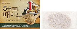 Духи, Парфюмерия, косметика Мыло-скраб с экстрактом пяти злаков - Mukunghwa Five Grains Scrub Soap