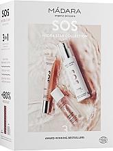 Духи, Парфюмерия, косметика Набор - Madara Cosmetics SOS Hydra Star Collection (f/cr/50ml + ser/20ml + micell/water/50ml)