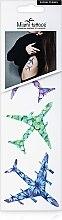 Духи, Парфюмерия, косметика Акварельные переводные тату - Miami Tattoos Floral Planes (mini)