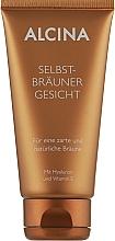 Парфумерія, косметика Автозасмага для обличчя з гіалуроном - Alcina Selbstbrаuner Gesicht
